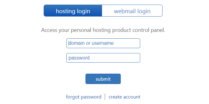 bluehostlogin