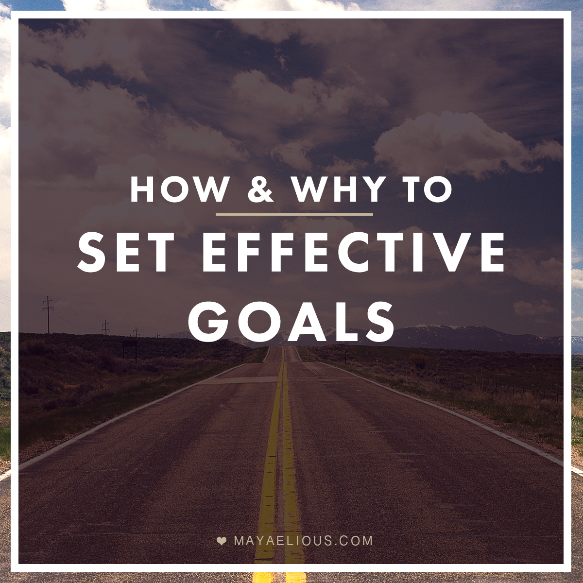 how to set effective goals How to set goals for the life you  to set goals that would give them the life and the career they wanted here's how to set the right goals for the life you.