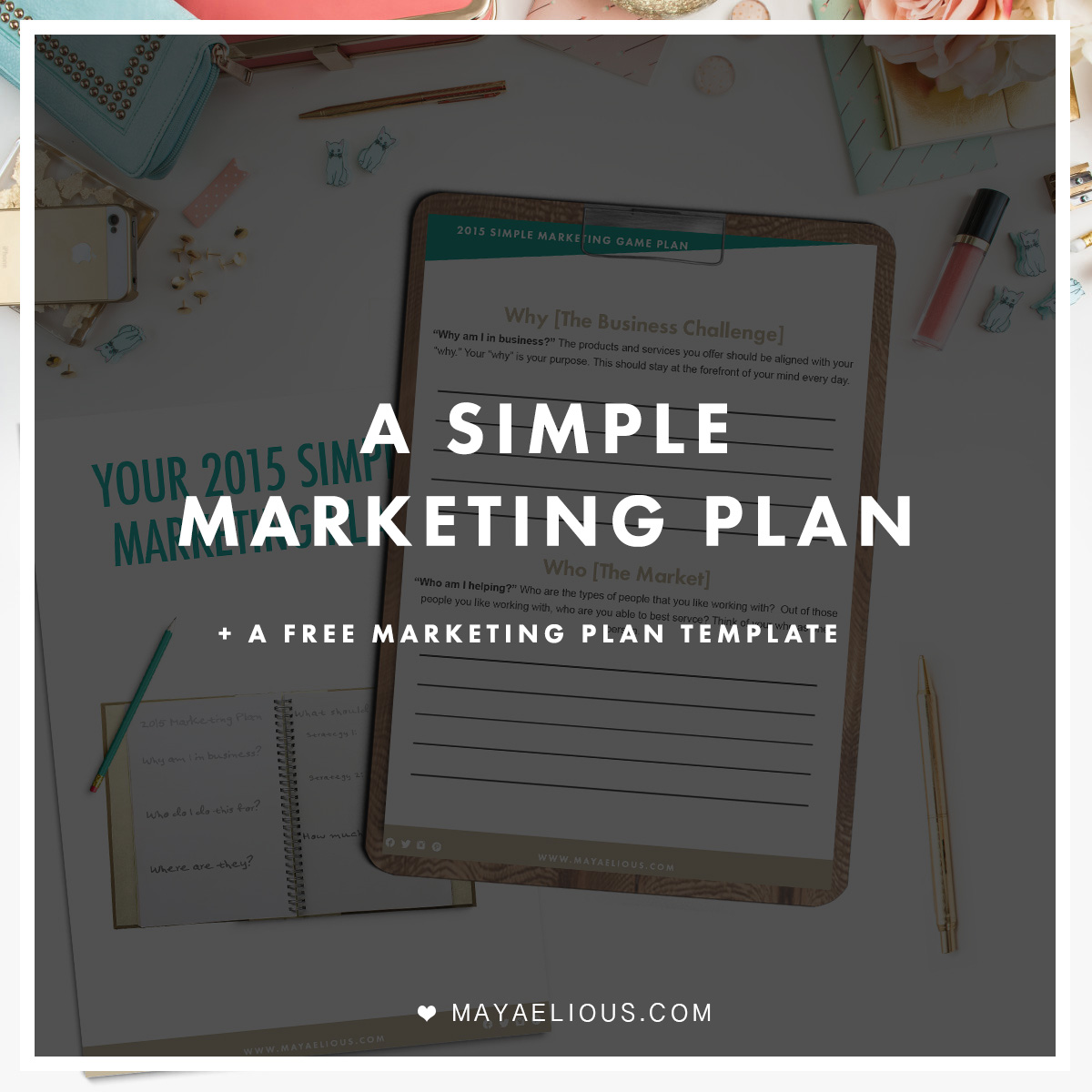 simple business marketing plan